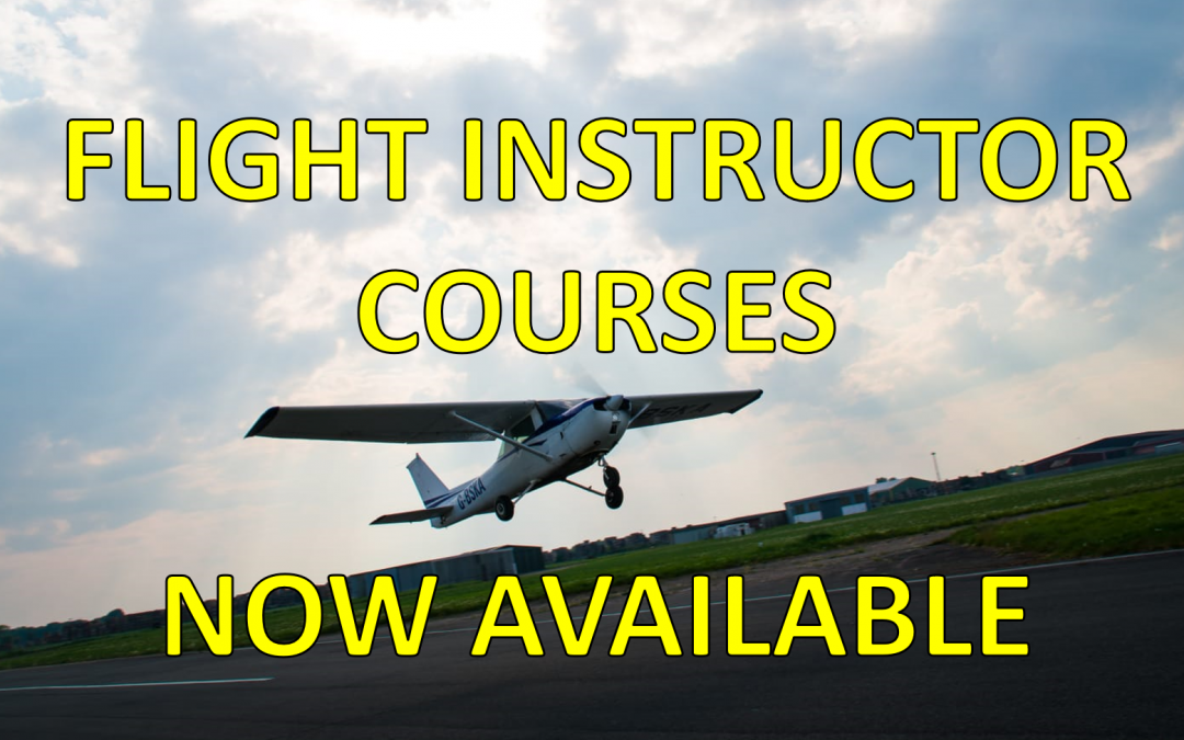Flight Instructor Courses (FIC) now available